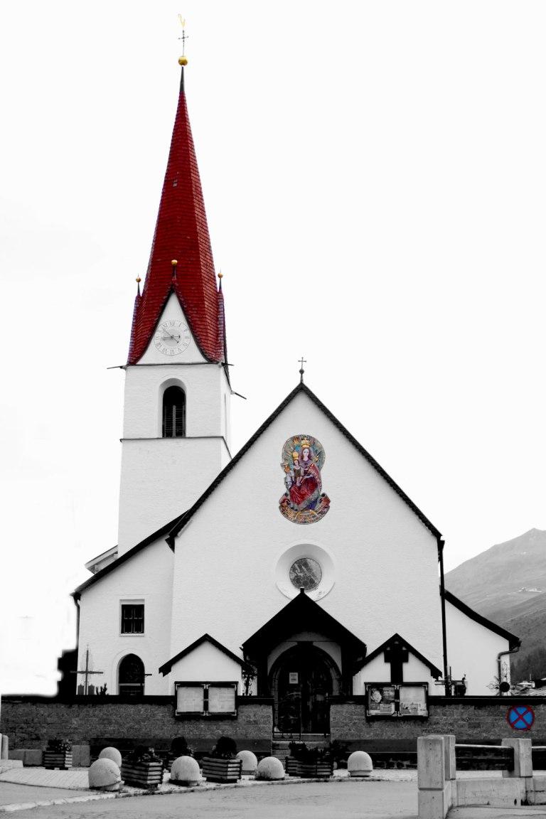 Obergurgl-kyrka